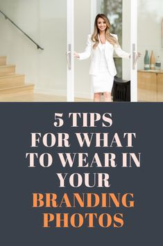 5 tips for what to wear in your personal branding photos