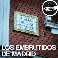 Calle de Los milaneses, Madrid