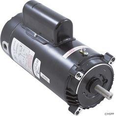 Motor, Cent, 2.0hp,115v/230v,1spd,SF 1.30, 56C fr,C-Face Key,SK1202 ,.