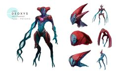 Deoxys by MrRedButcher.deviantart.com on @DeviantArt