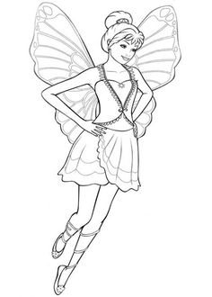 barbie mariposa coloring pages - Google-søgning | Sleeping beauty ... | 330x236