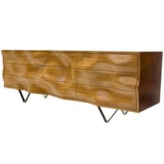 """""""Wavy C"""" Cabinet by Peter Stern 