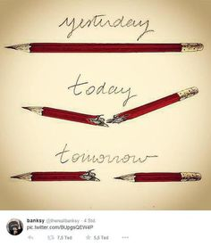 """So reagieren Zeichner aus aller Welt auf den Tod ihrer Kollegen beim Satiremagazin Charlie Hebdo"""": """"Gestern - Heute - Morgen"""" - Die Zeichnung von L. Clerc demonstriert: Es wird weitergehen. Mehr dazu hier: http://www.nachrichten.at/nachrichten/weltspiegel/Charlie-Hebdo-als-Zeitschrift-der-Ueberlebenden;art17,1598439 (Bild: L. Clerc)"""