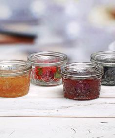 Look at this Honey Bee Embossed Jam Jar - Set of Four on #zulily today!
