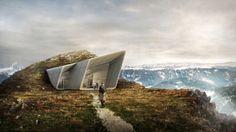 Muzeum górskie dezeen_Messner (Messner Mountain Museum)