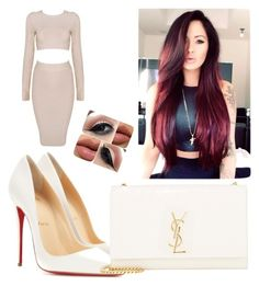 """""""Untitled #5"""" by bigkoolkid on Polyvore featuring Christian Louboutin and Yves Saint Laurent"""