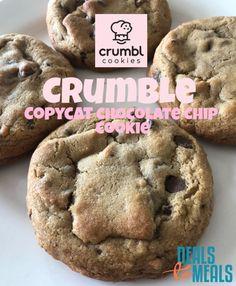 Healthy Cookie Recipes, Fun Baking Recipes, Sweet Recipes, Dessert Recipes, Semi Sweet Chocolate Chips, Chocolate Chip Recipes, Chocolate Chip Cookies, Homemade Cookies, Homemade Desserts