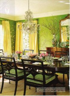 Dining Area Rooms Yellow Room Design