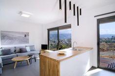SYMMETRY Tube ceiling spotlight minimal geometric modern industrial