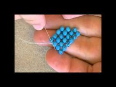 Diagonal Right Angle Weave ~ Seed Bead Tutorials