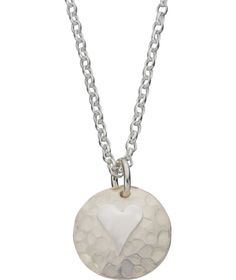 Buy Burkmar Planished Hearts Sterling Silver Pendant at Argos.co.uk - Your Online Shop for Ladies' necklaces.