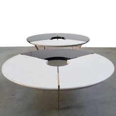 From Above II Table, Black and Stone