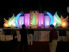 Marriage Decoration, Wedding Stage Decorations, Festival Decorations, Arab Wedding, Wedding Mandap, Set Design Theatre, Stage Design, Steel Gate Design, Brunch Wedding