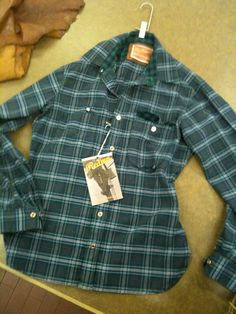 Checks with flannel checks details