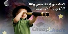 Bring the Stars and Sky into Your Backyard- When are you too old to make dreams come true? Tony is certainly making his dreams a reality- see his Observatory he built in his backyard! Kid Names, Baby Names, Popular Hobbies, Make Dreams Come True, Stylish Baby, Surnames, Backyard, Bring It On, Hero