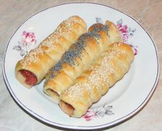 Sausage wrapped in dough recipes Hot Dog Buns, Hot Dogs, Sausage Wrap, Dough Recipe, Bread, Recipes, Food, Meal, Food Recipes