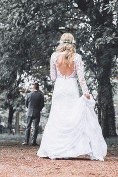 First look Wedding photo mrandmrsfoldi <3