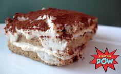 = PROTEIN POW(D)ER !: Protein Tiramisu Cake