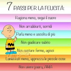 7 passi per la felicità