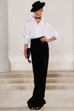 Ralph Lauren Spring 2013 RTW - Fashion Week - Runway, Fashion Shows and Collections - Vogue New York Fashion, Fashion Week, Look Fashion, Fashion Beauty, Fashion Show, Fashion Design, Runway Fashion, Looks Style, Style Me