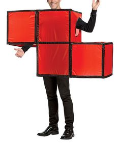 Look what I found on #zulily! Red Tetris Tetrimino Costume - Adult #zulilyfinds
