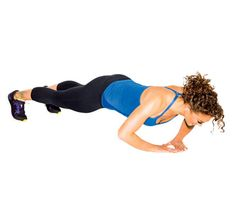 Work It, Wear It: Sexy Strapless Arms: Try the Triangle Push-Up to work triceps, shoulders, chest and abs. #SelfMagazine