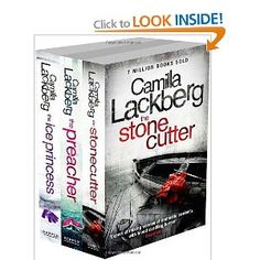 Camilla Lackberg Set: The Ice Princess, The Preacher and The Stonecutter Crime Fiction, Ice Princess, Thrillers, Camilla, Scandinavian, Amazon, Reading, Books, Amazons