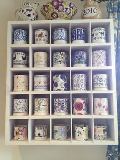 Emma Bridgewater mug collection...id love to have one of these made!