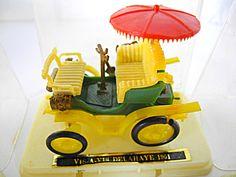 1960s Mini Model 1901 Vis A Vis Delahaye Vintage Car, Display Box