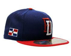 aefe8db4d77 New Era 59Fifty Dominican Republic World Baseball Classic Mens Fitted Hat  5950-WBCDOMRDRY Red 758 M US at Amazon Men s Clothing store