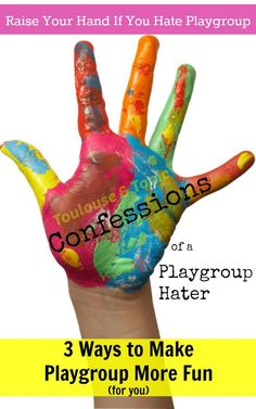 3 ways to make playgroup more fun for the parents!| toddlers | playdates | humor | kid activities