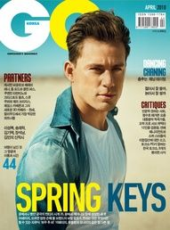 Channing Tatum Covers GQ Korea April 2010