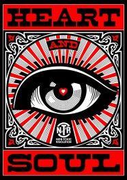 """Non Toxic Revolution Shepard Fairey heart and soul 186x262 Non Toxic Revolution: Die """"Keep A Breast"""" Kampagne von dem Künstler Shepard Faire..."""