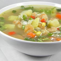 """Peruvian Chicken Soup (Aguadito de Pollo) 