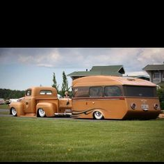 1949 F-1 Custom street rod and RV camper travel trailer picture. www.HelpSellMyRV.com Louisville Kentucky| Parking @ MN.State Fairgrounds @ The Show !!!