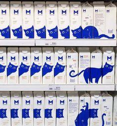 """Wie man's wendet - die neue """"Bilderparade"""" sollte man gesehen haben: Milk Packaging, Packaging Design, Branding Design, Smart Packaging, Organic Packaging, Branding Agency, Cosmetic Packaging, Ästhetisches Design, Design Fails"""