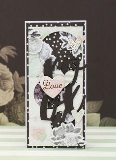 Crafty by AgnieszkaBe: Walentynki I Card, Valentines, Crafty, Valentine's Day Diy, Valantine Day, Valentine's Day