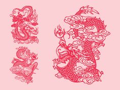 Eastern Dragons Vector Art & Graphics | freevector.com Vector Graphics, Vector Art, Vector Library, Japanese Dragon, Dragon Design, Mythological Creatures, Mythology, Original Artwork, Clip Art