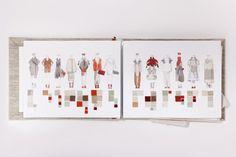 Leonid Batekhin, Parsons The New School for Design Portfolio Book, Fashion Portfolio, Portfolio Design, Portfolio Layout, Fashion Sketchbook, Fashion Sketches, Fashion Illustrations, Sketchbook Inspiration, Typography Inspiration