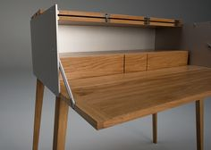 We love good design Japanese Furniture, Cool Furniture, Modern Furniture, Furniture Design, Desk Cabinet, Mid Century Furniture, Furniture Inspiration, Mid-century Modern, Cool Designs