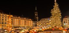The oldest christmas market in Germany, Dresden.