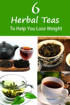 6 Herbal Teas To Help You Lose Weight