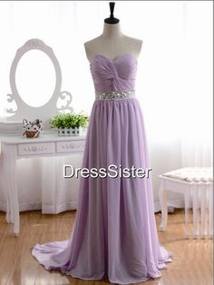 Bridesmaid Dresses Lilac Bridesmaid Dress / Cheap by DressSister
