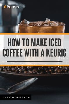 If you're trying to avoid paying money for an iced coffee when you already have a Keurig at home, you've come to the right place! It's 100% possible and surprisingly easy to do! Use our how-to guide to find out tips and tricks we've put together so you can get the most out of your home-brewed iced coffee. #coffeelovers #icedcoffee #roastycoffee #keurigcoffee Thai Iced Coffee, Vietnamese Iced Coffee, Making Cold Brew Coffee, How To Make Ice Coffee, What Is A Frappe, Coffee Course, Coffee Brownies, Coffee Benefits, Coffee Cream