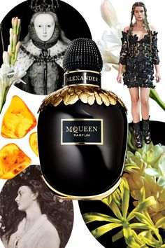 "MCQUEEN BY ALEXANDER MCQUEEN  This scent's spark, says designer Sarah Burton, was Elizabeth I, ""the first known monarch to wear perfume in England."" Burton wanted it to be ""natural and flower-based,"" while conveying a mysterious eroticism, like Victorian photographer Julia Margaret Cameron's work. Night-blooming flowers—jasmine, tuberose, and ylang-ylang—blossom voluptuously at the scent's heart over a trace of amber, evoking ""a woman who is luminous by day and seductive by night""; the gold…"