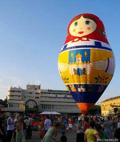 matryoshka hot air balloon