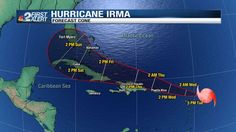 Hurricane Irma holds 185 mph sustained winds