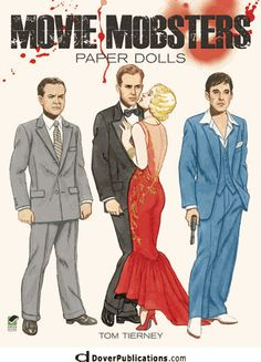 Movie Mobsters Paper Dolls