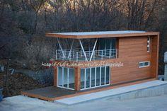 2층 테라스가 있는 18평 이동식주택 - Daum 부동산 커뮤니티