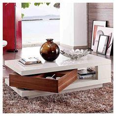 Mesa de centro 120x59x33 cm Groove-Homy.cl